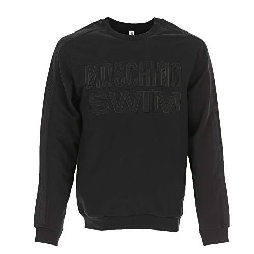 Moschino 3A1703-2318 - Sudadera para Hombre, Color Negro