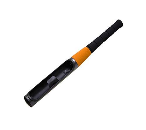 Diverse Nuevo Batón de béisbol Universal Bloqueo de volante Bloqueo Seguridad Anti-ROFT TOFT TRABAJA APROXIMADA AUTORENDE DE AUTO-defensa Cerradura de llave con 2 llaves robusto (Color : Orange)