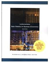 Basic Statistics for Business and Economics 7th (Seventh) Edition byLind
