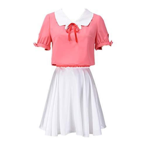 Rent A Girlfriend Ichinose Chizuru Disfraz de Cosplay de Anime, Uniforme Escolar, Vestido JK, Trajes de Falda Bonitos, Ropa de Carnaval de Halloween