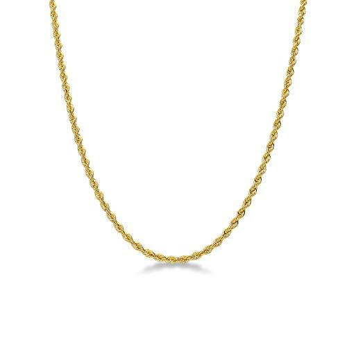 Gioielli di Valenza - Collana Corda in Oro Giallo 18k. - VCC030GG40