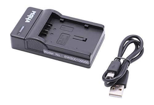 vhbw Micro USB Cargador, Cable de Carga para cámara Hitachi DZ-MV350A, DZ-MV350E, DZ-MV380A, DZ-MV380E, DZ-MV550A, DZ-MV580A