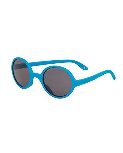 KI ET LA – Gafas de sol para bebé y niño – Rozz: 2 a 4 años – Azul Medio