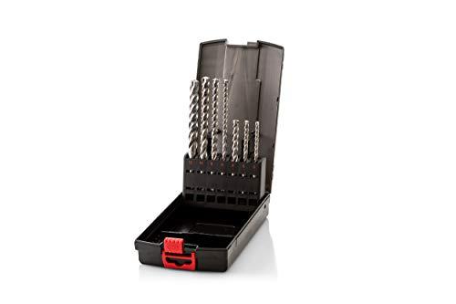 Würth 648050001 - Hammerbohrerkassette Plus Quadro-L Vario Sortiment Plus Zebra, 7-tlg.