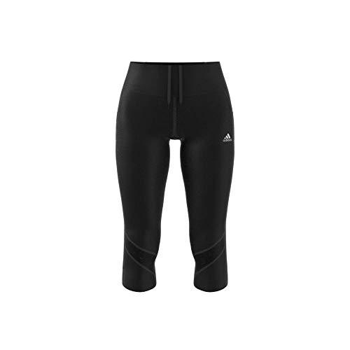 adidas Damen T-Shirt Own The Run, Black, XL, FS9830