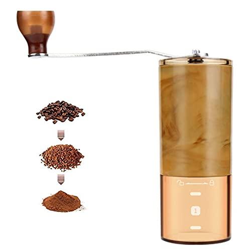 Przenośny ręczny ręczny ekspres do kawy Odłączany domowy ręczny młynek Regulowany stożkowy ceramiczny żarna do ziaren kawy, kawy kroplowej, espresso, prasy francuskiej