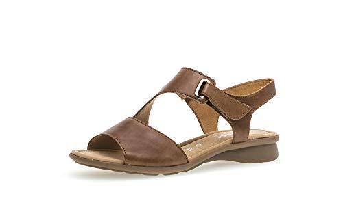 GABOR KESTE Sandalen/Open schoenen dames Cognac Sandalen/Open schoenen