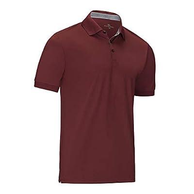 Marino Avenue Girls' Short Sleeve Pique Polo Shirt Maroon