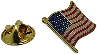 Gemelolandia   Pin de Solapa Bandera Mastil USA 16x15mm   Pines Originales Para Regalar   Para las Camisas, la Ropa o para...
