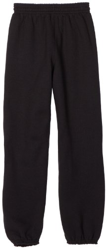 Soffe Big Boys' Sweatpant, Black, Medium