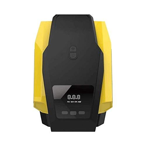 Neumático de aire compresor de aire portátil de aire compresor de aire Bomba de inflador de neumáticos, bomba de aire DC / AC para neumáticos de coche 12V 120W bomba de neumático eléctrico digital con
