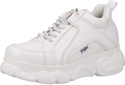 Buffalo Corin, Sneaker a Collo Alto Donna, Bianco (White 000), 38 EU