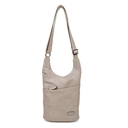 Damen Umhängetasche Braun - Schultertasche - Damenhandtasche - Handtasche - Crossbody - Messenger Bag - Shopper Tasche - premium Tote