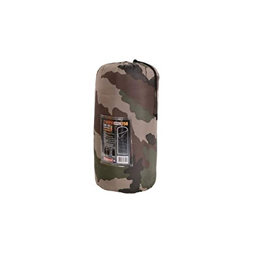 SAC DE COUCHAGE TEMPERE THERMO BAG 250 CAMPING NATURE OUTDOOR MILITAIRE CAMOUFLAGE