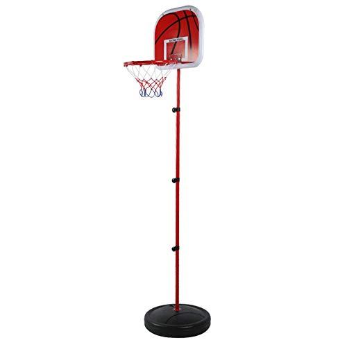 DAUERHAFT Soporte de Baloncesto para niños fácil de Transportar sin deformación, para Interior