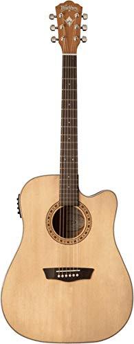 Guitarra Washburn Folk Harvest D7SCE natural