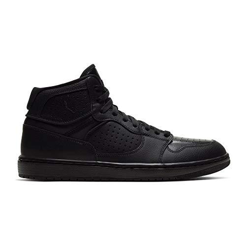 Nike Herren Jordan Access Basketballschuh, Schwarz/Schwarz, 41 EU