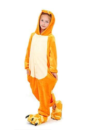 Charmander - Pijama para niños y niñas, color naranja Naranja naranja 2- 3 años