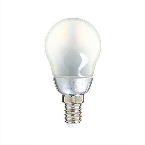 Xanlite RV250PO Ampoule 250 Lumens, Plastique + Verre, E14, 3 W, Opaque