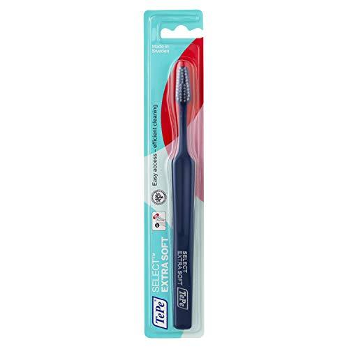 TePe Select X-Soft Zahnbürste / Ultraweiche Borsten und ein schmal zulaufender Bürstenkopf - für eine gründlichere Reinigung