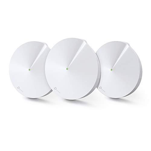 TP-Link WiFi 無線LANルーター ウイルス対策 セキュリティ 3ユニットセット AC1300 11ac デュアルバンド メッシュWi-Fiシステム Deco M5 V2.0