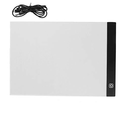 cenryusa A4 LED Light Box Tracing Board Dimmable USB Art Stencil Drawing Pattern Pad