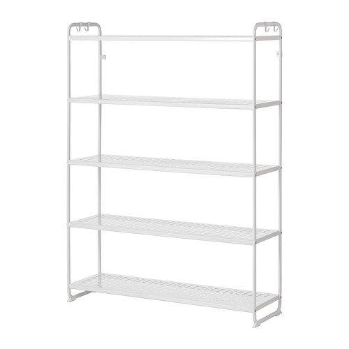 Ikea MULIG Regal in weiß; (120x34x162cm)