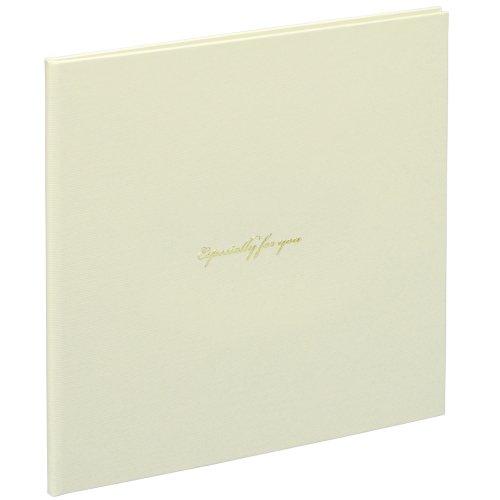 ナカバヤシ Vカットマット写真台紙 2L判2面 スクエアタイプ ホワイト VM2L-301-W