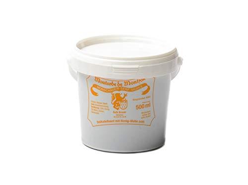 Honig Mohn Senf - Monschauer Senf - Moutarde de Montjoie - 500 ml im Nachfülleimer