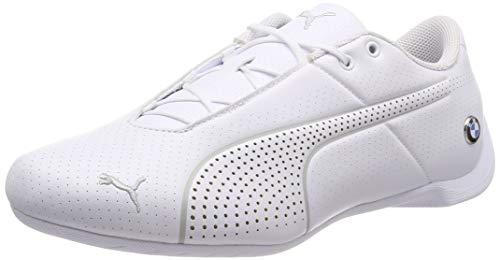Puma Unisex-Erwachsene BMW MMS Future Cat Ultra Sneaker, Weiß (Puma White-Puma White-Gray Violet), 44.5 EU