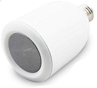 سماعات بلوتوث مع ضوء ال اي دي لاجهزة ايفون، ايباد، و جميع الهواتف الذكية - ابيض
