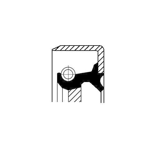 CORTECO 12011462B Wellendichtring, Differential
