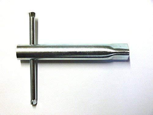 Pfostenschlüssel Dreikant 17mm DIN 3223, für M12 DIN 22424, Dreikantschlüssel, Dornschlüssel