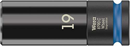Wera \'05004591001 8790 C Wheel Impaktor Radmutter Steckschlüssel, Blau, 19 mm