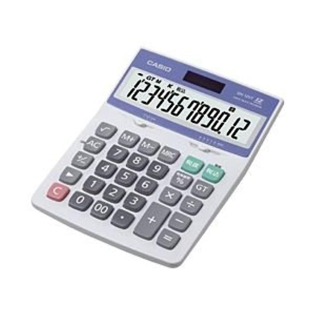 電子レンジサイドボード私の(業務用セット) カシオ(CASIO) 中型電卓 12桁 縦17.5×横12.6×厚さ3.5cm D