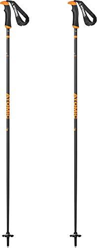Atomic AMT Carbon SQS Ski Poles Sz 130cm (52in) Grey/Orange