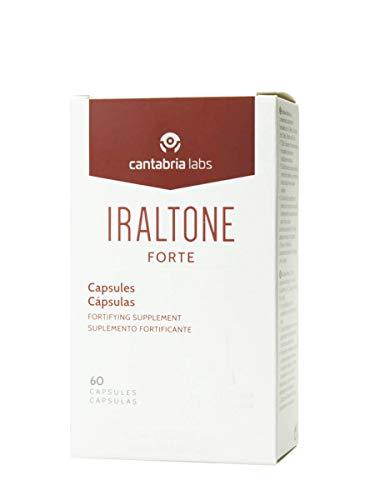 Iraltone Forte Concentrado Nutricional para Cabello y Únas - 60 Cápsulas