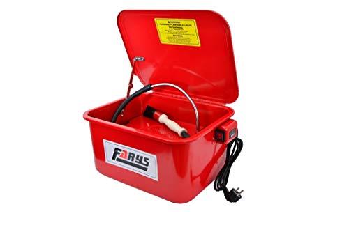 Teilewaschgerät Waschgerät 13 L + Waschbürste KFZ Werkstatt mit Pumpe FARYS