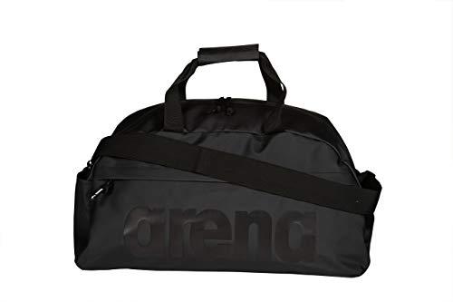 ARENA Erwachsene Sporttasche Duffle Team 40L All Black, one Size