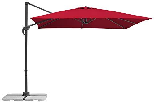 Schneider-Schirme Rhodos Junior 270 x 270 cm Sonnenschirme, Rot