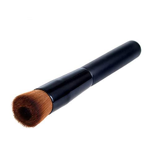 Pinceau De Maquillage Pro Maquillage Cosmétiques Poudre Fard Visage Teint En Poudre Brosse Ronde Oblique Concave Pinceau Pinceau Fond De Teint