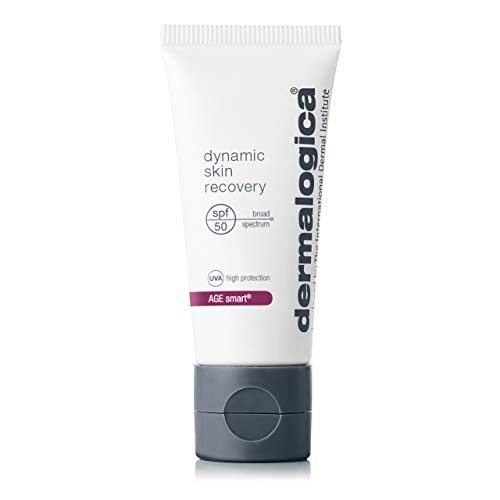 Dermalogica Dynamic Skin Recovery SPF50 (0.4 Fl Oz) Anti-Aging Face Sunscreen Moisturizer, Medium-Weight Non-Greasy Broad Spectrum to Protect Against UVA and UVB Rays