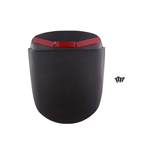 HUOGUOYIN Guardabarros de motocicleta para guardabarros delantero de motocicleta, extensor de extensión para Vespa Sprint (negro)