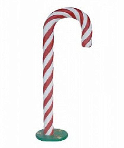 Destello S.L. Bastón de Caramelo de Navidad Gigante 206x85x45 cm