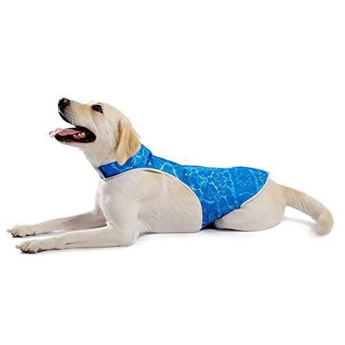 PAWZ Road 犬用クールベスト 冷感 冷却ベスト ひんやりベスト 犬用夏服 冷却コート 小中大型犬 熱中症対策 暑さ対策グッズ クーリングベスト 日焼き防ぐ お出かけ お散歩 XLサイズ