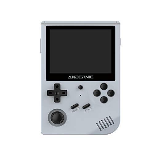 Corlidea Handheld Spielkonsole, RG351V 3.5'' Eingebaute RK3326 Quad-core Processor Retro-Spielekonsole Portable Spielkonsole Source Linux System (16G+64G)