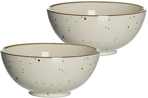 Ritzenhoff & Breker Schalen-Set Buddha-Bowls Xico, 2-teilig, je 950 ml, Creme, Keramik