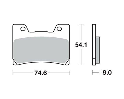 Bremsbeläge TRW MCB 622 für YAMAHA FZR 600 R 4JH, 4MH 94-96 (vorne)
