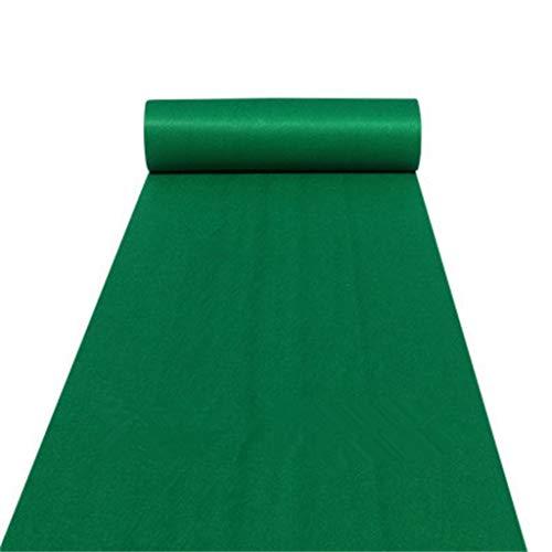 LIYIN-Tapijt Donkergroen Bruiloft Tapijt Roll Antislip Wegwerp 2 MM Tapijt Viering Bruiloft/T Stage/Outdoor Activiteiten/Stage Tapijt