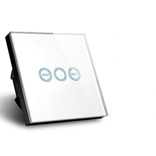 glasabdeckung temporizador Touch interruptor EU Modelo Home Interruptor de pared